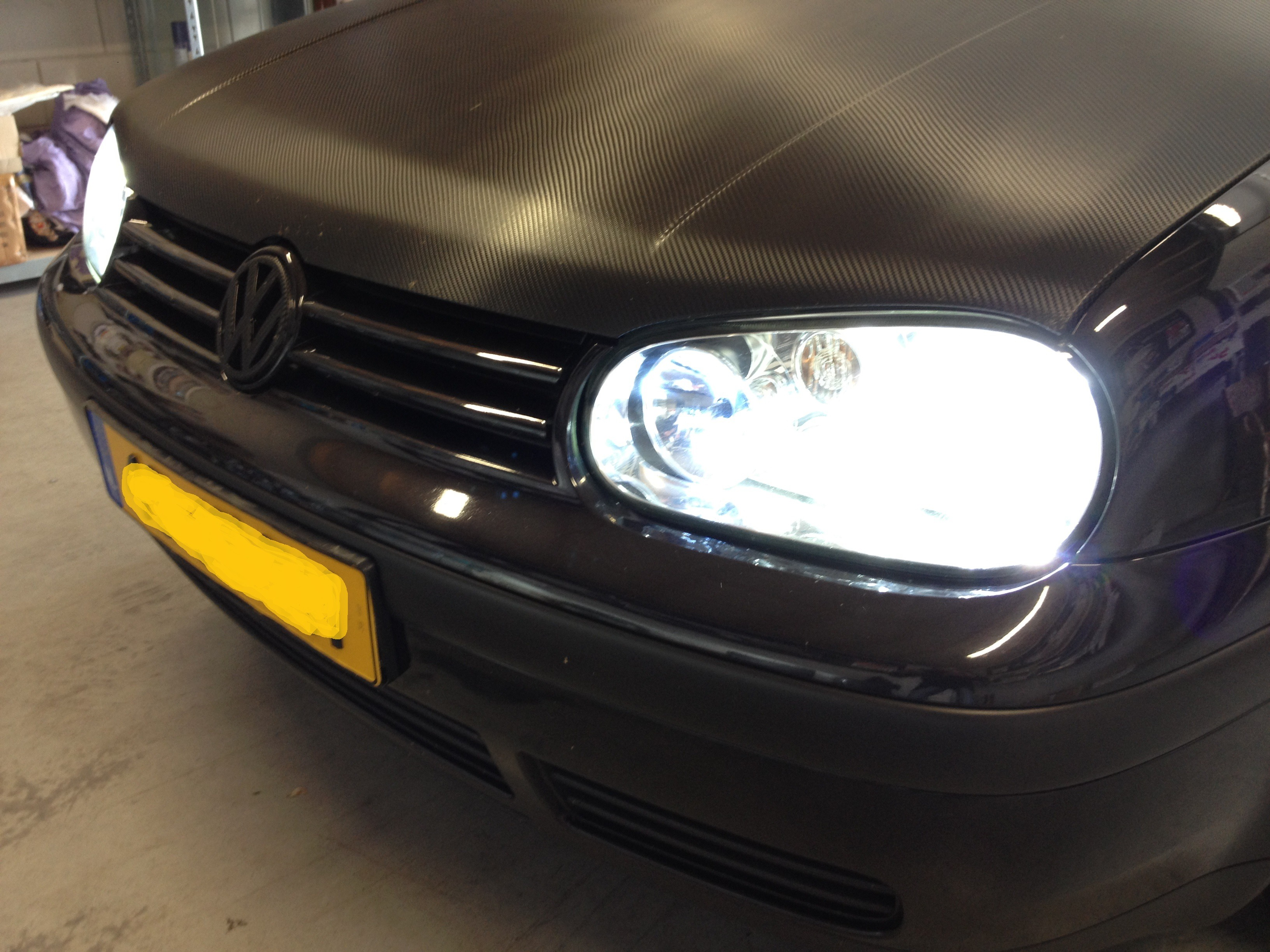 Deze mooie volkswagen golf 4 1 9 tdi highline 2002 8 for Led lampen auto