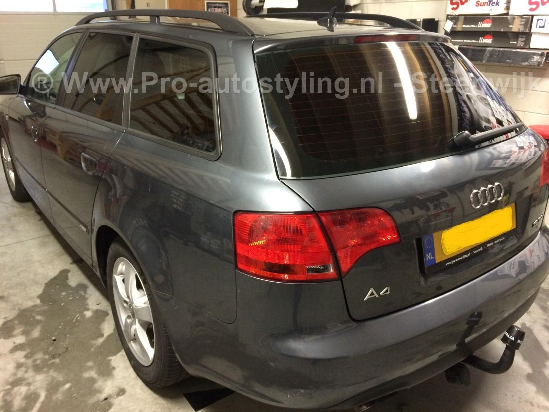 Deze mooie Audi A4 avant >> Geblindeerd / tinted /beplakt met zwarte ...