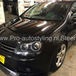 Volkswagen Golf 5 blinderen Tinten geen/minimale Dot Matrix randen!