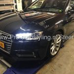 Audi A4 avant station blinderen tinten 20% geen / minimale Dot Matrix randen!