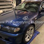 Bmw 3 serie touring auto eminent steenwijk blinderen tinten folie dot matrix