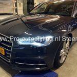 Audi A6 sedan 2017 blinderen tinten 20% achterruiten 50% folie voorp. incl Dot matrix behandeling Overijssel
