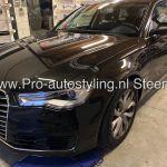 Audi A6 avant blinderen tinten ruiten ramen 35%  folie + dot matrix behandeling