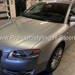 Audi A4 avant ramen ruiten blinderen tinten folie + dot matrix behandeling