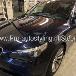 Bmw 5 serie sedan ramen ruirten blinderen tinten 20% folie Dot Matrix behandeling