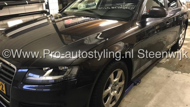 Blinderen tinten Audi A4 sedan