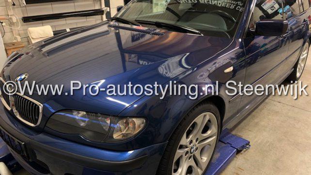 Bmw 3 serie touring auto eminent steenwijk blinderen tinten folie dot matrix